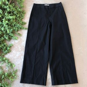 Everlane Wide Leg Structure Pant in Black